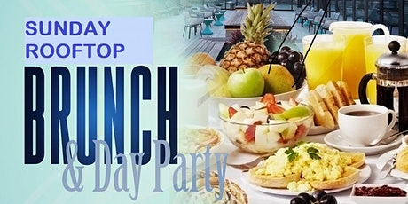 Rooftop Brunch & Day Party (Brunch 12 to 4 pm & Party 5pm to 12am) Weekly Event From 1/12/2020 to 12/27/2020 (NO EVENT ON 1/5/2020) tickets