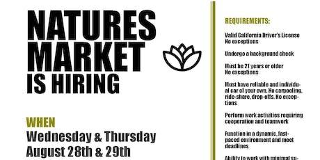 Nature's Market tickets