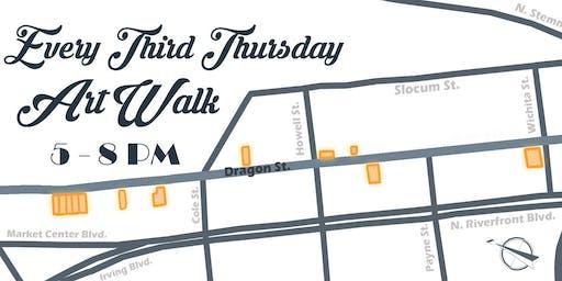 Third Thursday's Art Walk with the Dragon Street Galleries