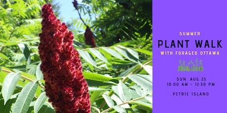 Summer Edible Plant Walk - Petrie Island tickets
