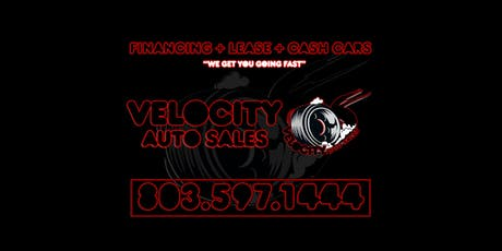 VELOCITY AUTO SALES   GRAND OPENING EVENT   FAMILY FUN tickets