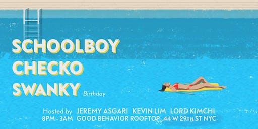 LIFTED SATURDAYS | 8/24 FT. DJs SCHOOLBOY | CHECKO & SWANKY BDAY!