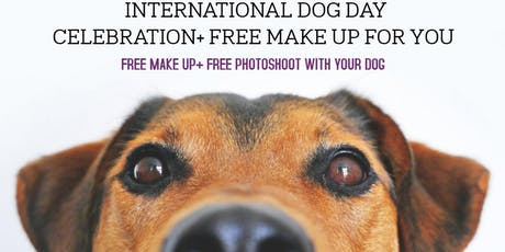 FREE PHOTOSHOOT WITH YOUR DOG & MAKE UP FOR YOU tickets