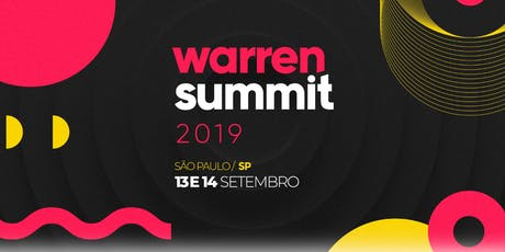 Warren Summit 2019 ingressos