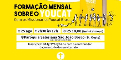 Formação Mensal - Youcat -  Setor Juventude ingressos