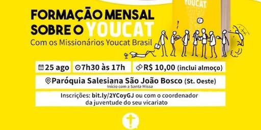 Formação Mensal - Youcat -  Setor Juventude