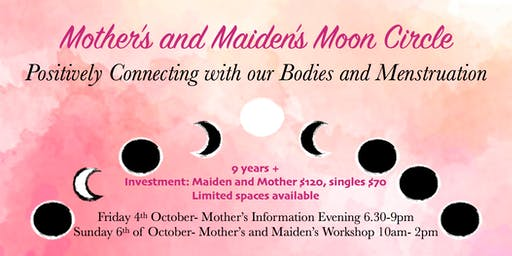 Maiden's and Mother's Moon Circle