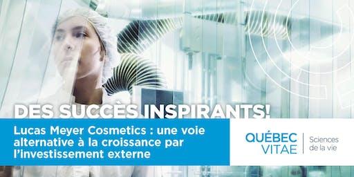 Conférence des succès inspirants! LucasMeyer Cosmetics