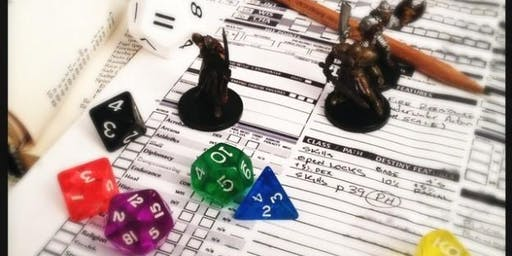 RPG Workshop: How to Play Dungeons & Dragons 5th ed.