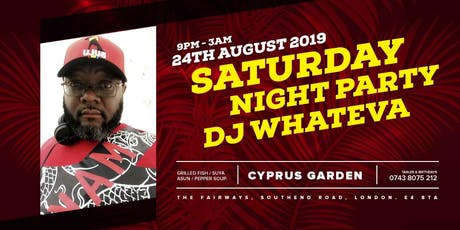 JINGLES SATURDAY PARTY NIGHT with Dj Whateva  tickets