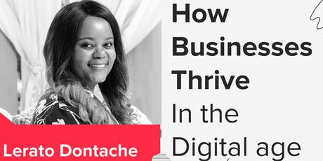 Fireside chat with Lerato Dontache  tickets