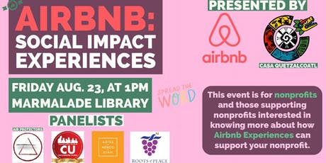 Airbnb: Social Impact Experiences tickets