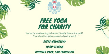 Free Yoga for Charity tickets