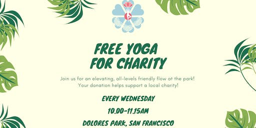 Free Yoga for Charity