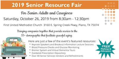 2019 Senior Resource Fair For Senior Adults & Caregivers | Plano | RSVP