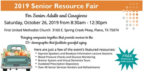 2019 Senior Resource Fair For Senior Adults & Caregivers | Plano | RSVP tickets