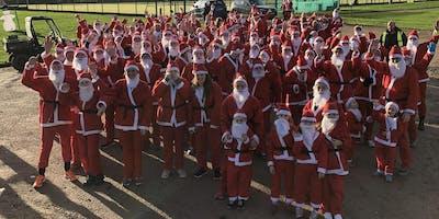 5km Santa run for leukaemia care 2019