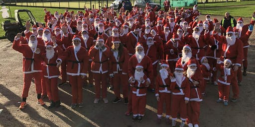 5km Santa run for leukaemia care 2019