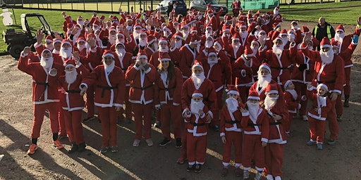 2.5k & 5km Santa runs for leukaemia care 2019