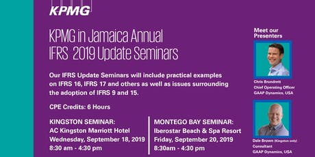 KPMG IFRS Update Seminar - Kingston tickets