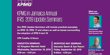 KPMG IFRS Update Seminar- Montego Bay tickets