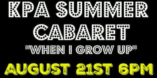 KPA Summer Cabaret
