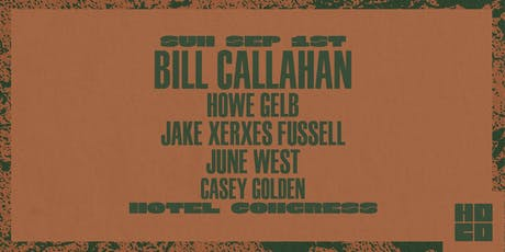 Bill Callahan at Hotel Congress