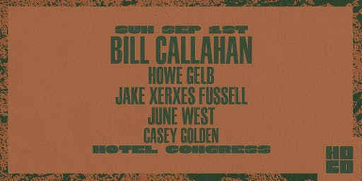 Bill Callahan at Hotel Congress