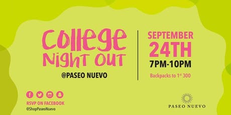 College Night Out tickets