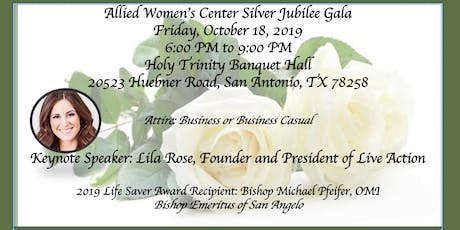 Allied Women's Center Silver Jubilee Gala tickets