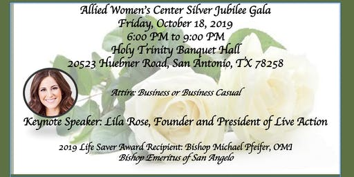 Allied Women's Center Silver Jubilee Gala