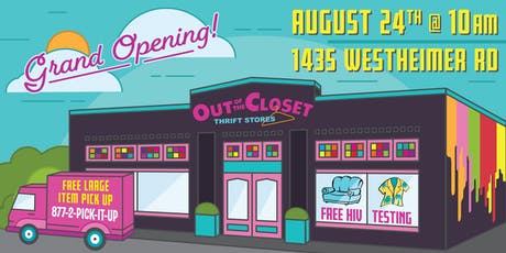 AHF Out of The Closet Grand Opening tickets