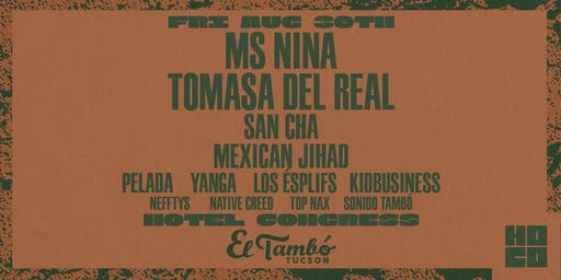 Tomasa del Real, Ms Nina and San Cha at Hotel Congress