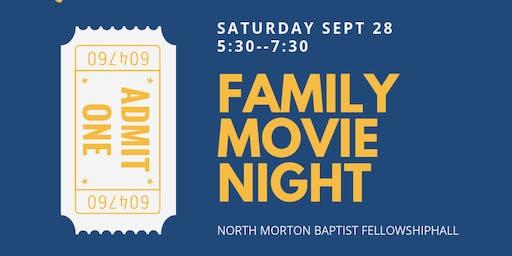 Family Friendly Movie Night