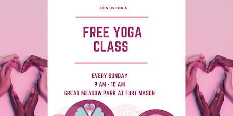 Free Yoga at Fort Mason tickets