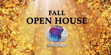 Divine Clarity Fall Open House tickets