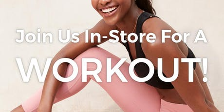 FREE workout with Equinox Willowbend @ Fabletics Legacy West  tickets