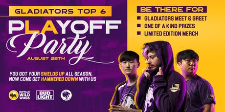 LA Gladiators Playoff Celebration Sponsored By Bud Light tickets