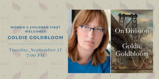 Book Launch Party: On Division by Goldie Goldbloom