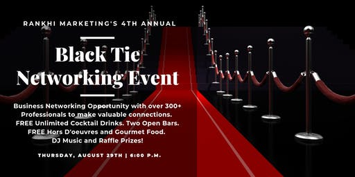Black Tie Networking Event