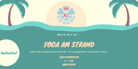 Yoga am Strand - Kostenfrei tickets