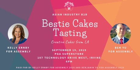 "AIB2B Presents Bestie Cakes Tasting ""Creative Cakes From LA"" tickets"