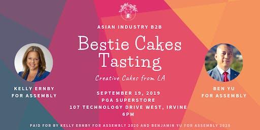 "AIB2B Presents Bestie Cakes Tasting ""Creative Cakes From LA"""