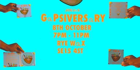 GAPSIVERSARY tickets