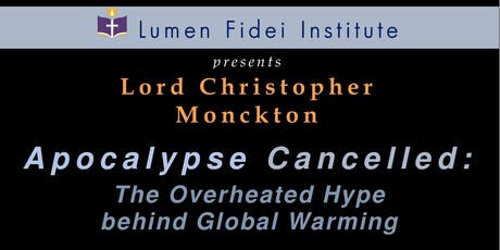 Lord Christopher Monckton tickets