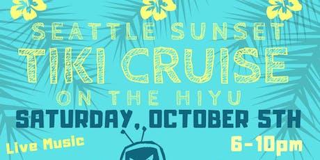 Seattle Sunset Tiki Cruise tickets