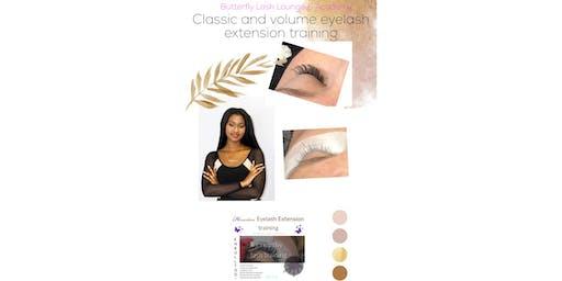 Classic & Volume EyeLash extension training