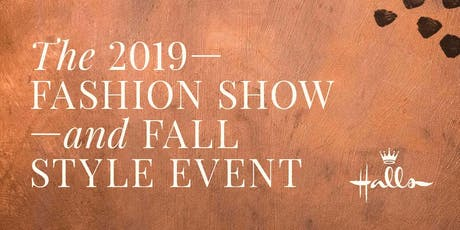 The Halls 2019 Fashion Show and Fall Style Event tickets