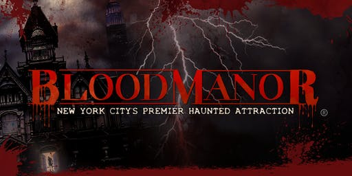 Blood Manor 2019 - Saturday, October 12th