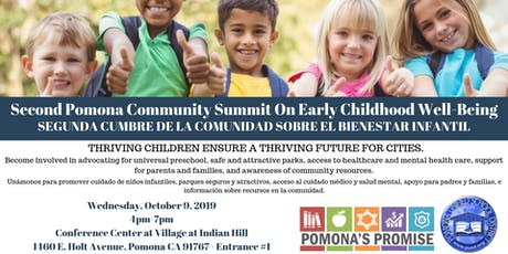 Second Pomona Community Summit on Early Childhood Well-Being tickets
